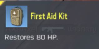 COD Mobile First Aid