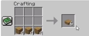 How to make a slab in Minecraft