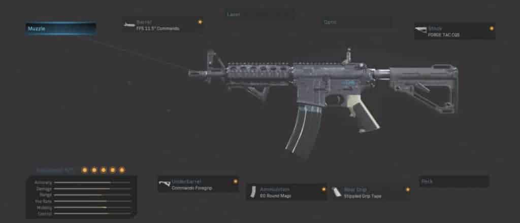 M4A1 Rusher Best Attachments