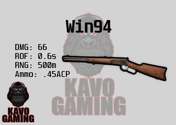 Stats for the Win94 in PUBG