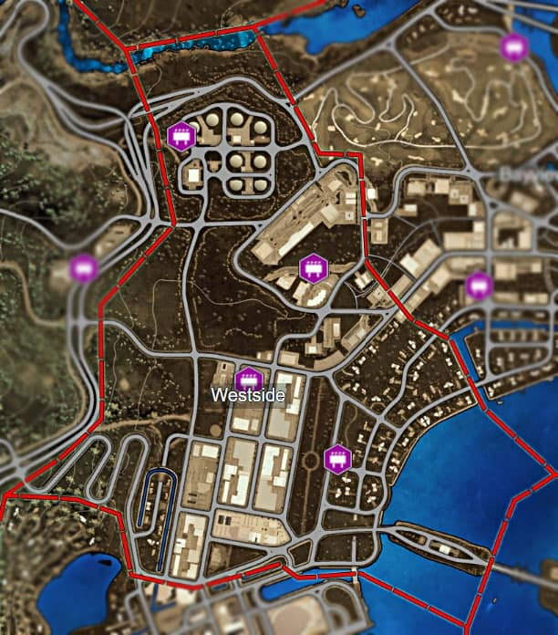 Nfs Heat All Billboard Locations Map Kavo Gaming