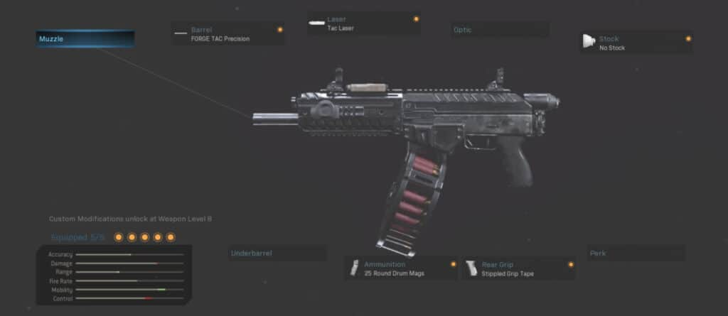 Origin 12 Gunsmith Warzone Best Loadout