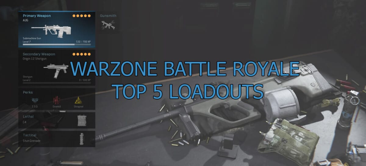 5 Best Warzone Loadouts To Dominate In Battle Royale Kavo Gaming