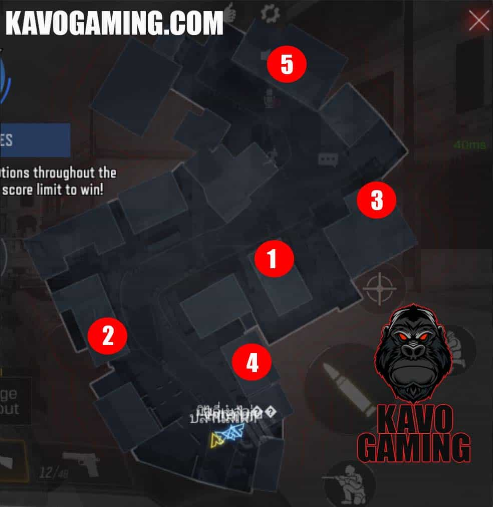 Crossfire Hardpoint Locations and Rotations COD Mobile