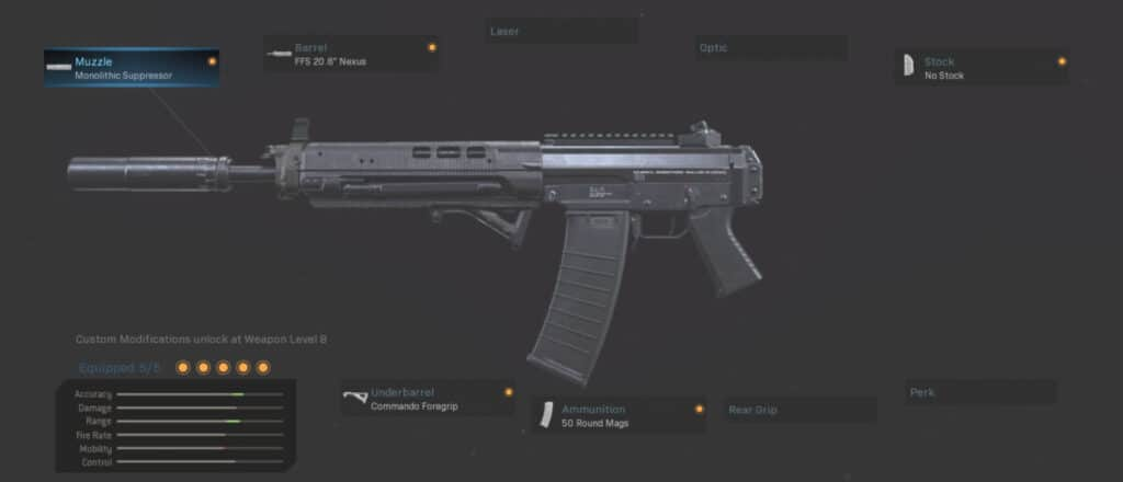 GRAU 55.6 Gunsmith Warzone Best Loadout