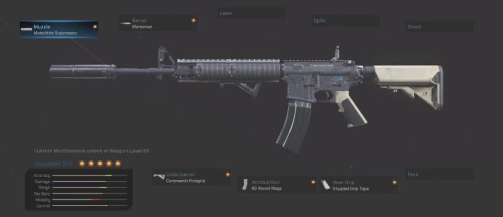 M4A1 Best Warzone Loadout Gunsmith