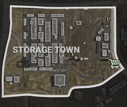 Storage Town Buy Station & Vehicle Locations