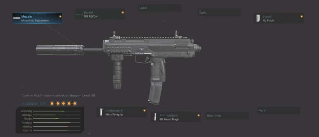 MP7 Warzone best loadout: All Rounder
