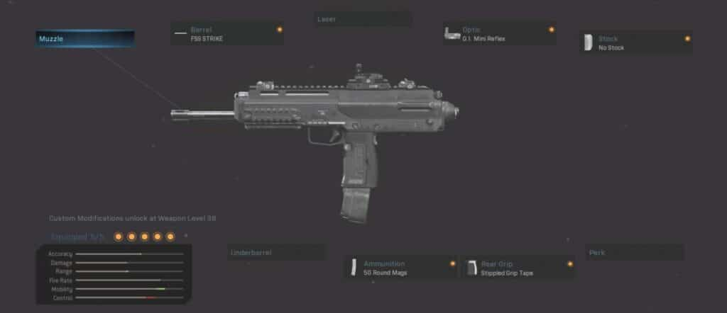 MP7 Warzone best loadout:  Mobile champ